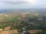 Comfortabele luchtballonvaart opgestegen in Beesd op woensdag 17 oktober 2018