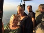 Verrassende luchtballonvaart in de regio Beesd op woensdag 17 oktober 2018