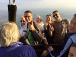 Grandioze ballonvlucht omgeving Beesd op woensdag 17 oktober 2018
