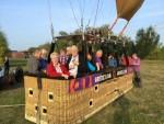 Professionele luchtballonvaart vanaf startlocatie Venray op woensdag 17 oktober 2018