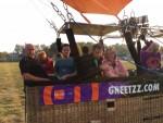 Exceptionele ballon vlucht in de regio Venray op woensdag 17 oktober 2018