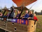 Te gekke luchtballon vaart omgeving Venray op woensdag 17 oktober 2018