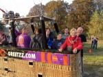 Magische luchtballonvaart gestart op opstijglocatie Venray op woensdag 17 oktober 2018