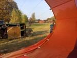 Fascinerende heteluchtballonvaart opgestegen op opstijglocatie Venray op woensdag 17 oktober 2018