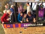 Fascinerende ballonvlucht in Venray op woensdag 17 oktober 2018
