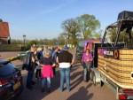 Buitengewone heteluchtballonvaart vanaf opstijglocatie Winterswijk meddo woensdag 18 april 2018