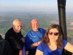 Majestueuze luchtballon vaart startlocatie Winterswijk meddo woensdag 18 april 2018