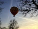 Perfecte ballon vaart in de buurt van Winterswijk meddo woensdag 18 april 2018