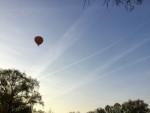 Professionele luchtballon vaart in de omgeving van Winterswijk meddo woensdag 18 april 2018