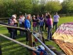 Uitmuntende ballon vlucht gestart in Winterswijk meddo woensdag 18 april 2018