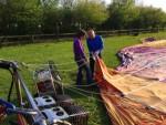 Waanzinnige ballonvaart opgestegen in Winterswijk meddo woensdag 18 april 2018
