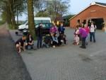 Feestelijke luchtballonvaart gestart op opstijglocatie Winterswijk meddo woensdag 18 april 2018