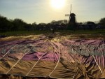 Spectaculaire ballon vlucht in Winterswijk meddo woensdag 18 april 2018