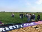 Ultieme luchtballon vaart opgestegen in Noordeloos woensdag 18 juli 2018
