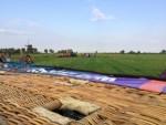 Voortreffelijke ballon vlucht over de regio Noordeloos woensdag 18 juli 2018