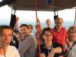 Schitterende ballonvaart in de buurt van Veenendaal woensdag 18 juli 2018