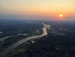 Comfortabele ballon vaart vanaf opstijglocatie Veenendaal woensdag 18 juli 2018