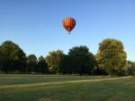 Spectaculaire ballon vaart opgestegen op opstijglocatie Maastricht woensdag 20 juni 2018