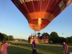 Voortreffelijke luchtballon vaart gestart in Maastricht woensdag 20 juni 2018