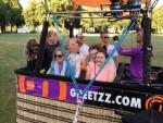 Feestelijke ballonvlucht opgestegen op startveld 's-hertogenbosch woensdag 20 juni 2018