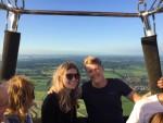 Prachtige heteluchtballonvaart omgeving 's-hertogenbosch woensdag 20 juni 2018