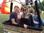 Spectaculaire ballon vlucht regio 's-hertogenbosch woensdag 20 juni 2018