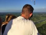 Ongekende luchtballonvaart vanaf startlocatie 's-hertogenbosch woensdag 20 juni 2018