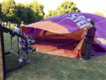 Betoverende ballon vlucht vanaf startveld 's-hertogenbosch woensdag 20 juni 2018
