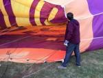 Comfortabele heteluchtballonvaart opgestegen op opstijglocatie 's-hertogenbosch woensdag 20 juni 2018
