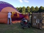 Uitzonderlijke ballonvaart boven de regio 's-hertogenbosch woensdag 20 juni 2018