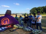 Bijzondere ballon vlucht in Tilburg woensdag 20 juni 2018