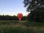 Uitmuntende luchtballonvaart vanaf opstijglocatie Tilburg woensdag 20 juni 2018