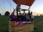 Ultieme luchtballonvaart opgestegen op opstijglocatie Tilburg woensdag 20 juni 2018