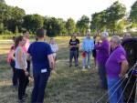 Unieke ballonvaart boven de regio Tilburg woensdag 20 juni 2018