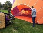 Uitstekende ballonvaart over de regio Uden woensdag 20 september 2017