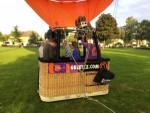 Heerlijke heteluchtballonvaart opgestegen op startlocatie Uden woensdag 20 september 2017