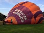 Majestueuze ballonvaart vanaf startveld Uden woensdag 20 september 2017