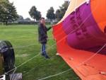 Prachtige luchtballon vaart gestart in Uden woensdag 20 september 2017
