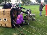 Comfortabele ballon vaart gestart op opstijglocatie Uden woensdag 20 september 2017