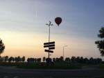 Ongekende luchtballonvaart vanaf opstijglocatie Beesd op woensdag 22 augustus 2018