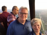 Mooie luchtballonvaart startlocatie Capelle aan den ijssel op woensdag 22 augustus 2018