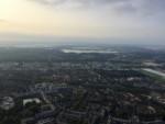 Onovertroffen luchtballonvaart gestart op opstijglocatie Capelle aan den ijssel op woensdag 22 augustus 2018