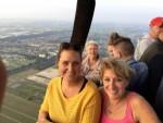 Meesterlijke ballonvlucht in de omgeving Capelle aan den ijssel op woensdag 22 augustus 2018