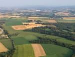 Meesterlijke ballon vaart opgestegen op startlocatie Maastricht op woensdag 22 augustus 2018