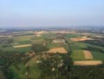 Super ballon vaart opgestegen op startlocatie Maastricht op woensdag 22 augustus 2018