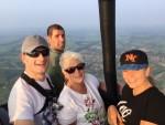 Prettige ballon vlucht vanaf startlocatie Meppel op woensdag 22 augustus 2018