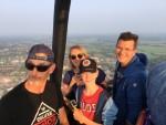 Verrassende ballonvaart over de regio Meppel op woensdag 22 augustus 2018