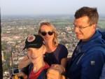 Sublieme heteluchtballonvaart opgestegen op opstijglocatie Meppel op woensdag 22 augustus 2018