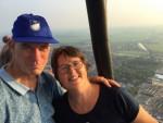 Heerlijke heteluchtballonvaart omgeving Meppel op woensdag 22 augustus 2018