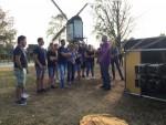 Meesterlijke heteluchtballonvaart over de regio Uden op woensdag 22 augustus 2018